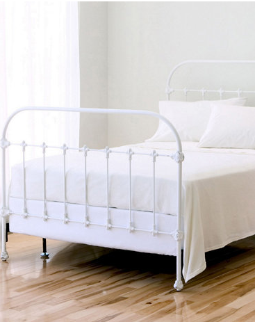 The Friday Five Iron Bed Frameswhite Cabana White Cabana