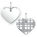 Jewelry: The Mannin Tartan Heart