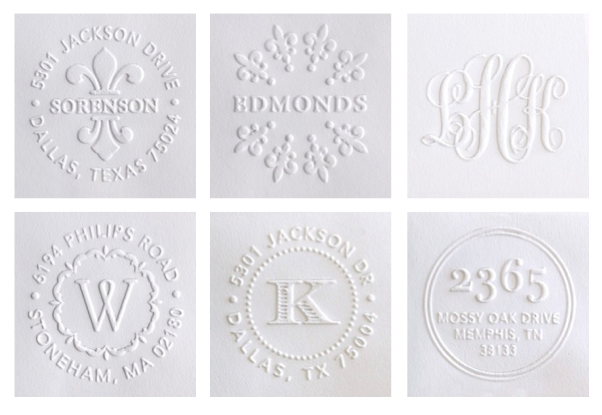 personalized embosser_Wedding Paper Divas