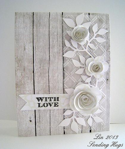 Sending Hugs_white Card