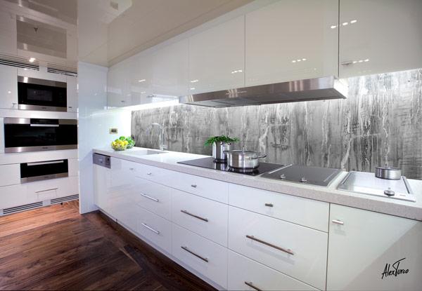 The friday five white kitchenswhite cabana white cabana - Pannelli per retro cucina ...