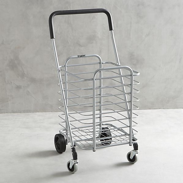 polder-folding-shopping-cart