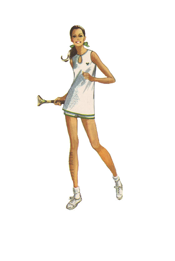 tennis outfit pattern