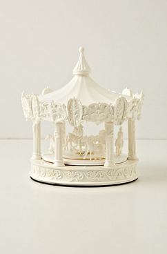 carousel clock-168-anthropologie
