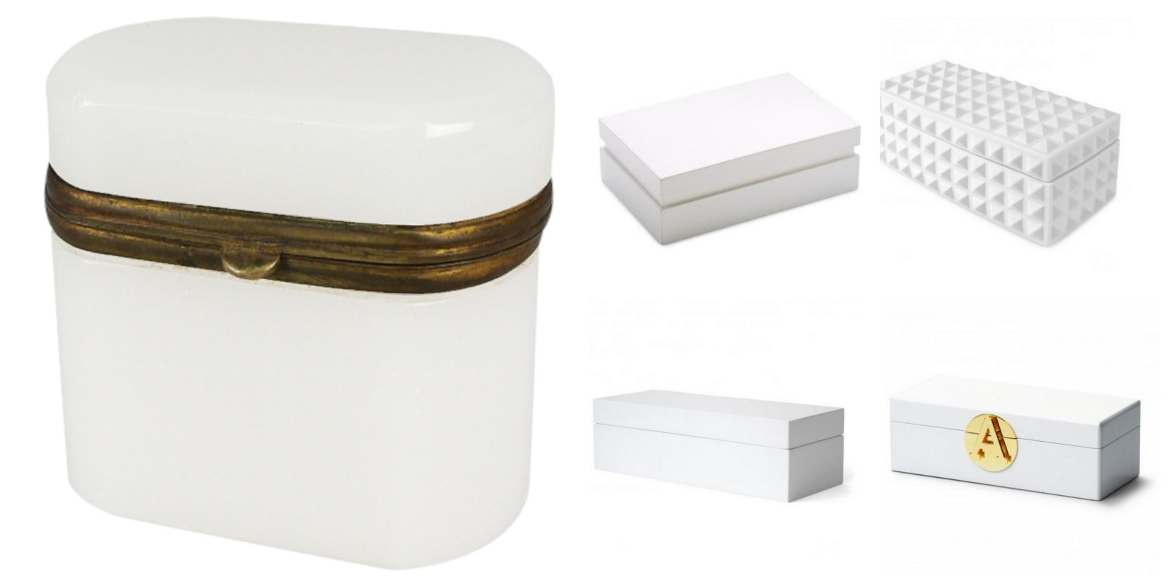 Modern Box Opaline Box $495 Modern