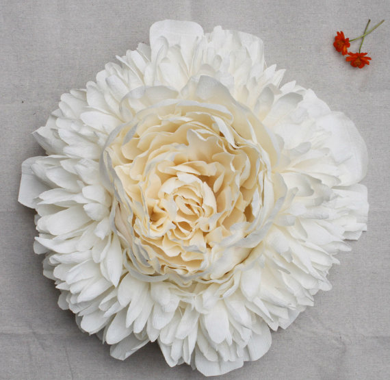 paper peony_white_PapelSF_Etsy