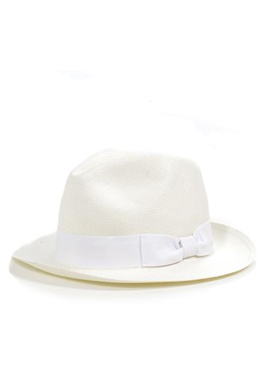 Panama-hat-white-bow