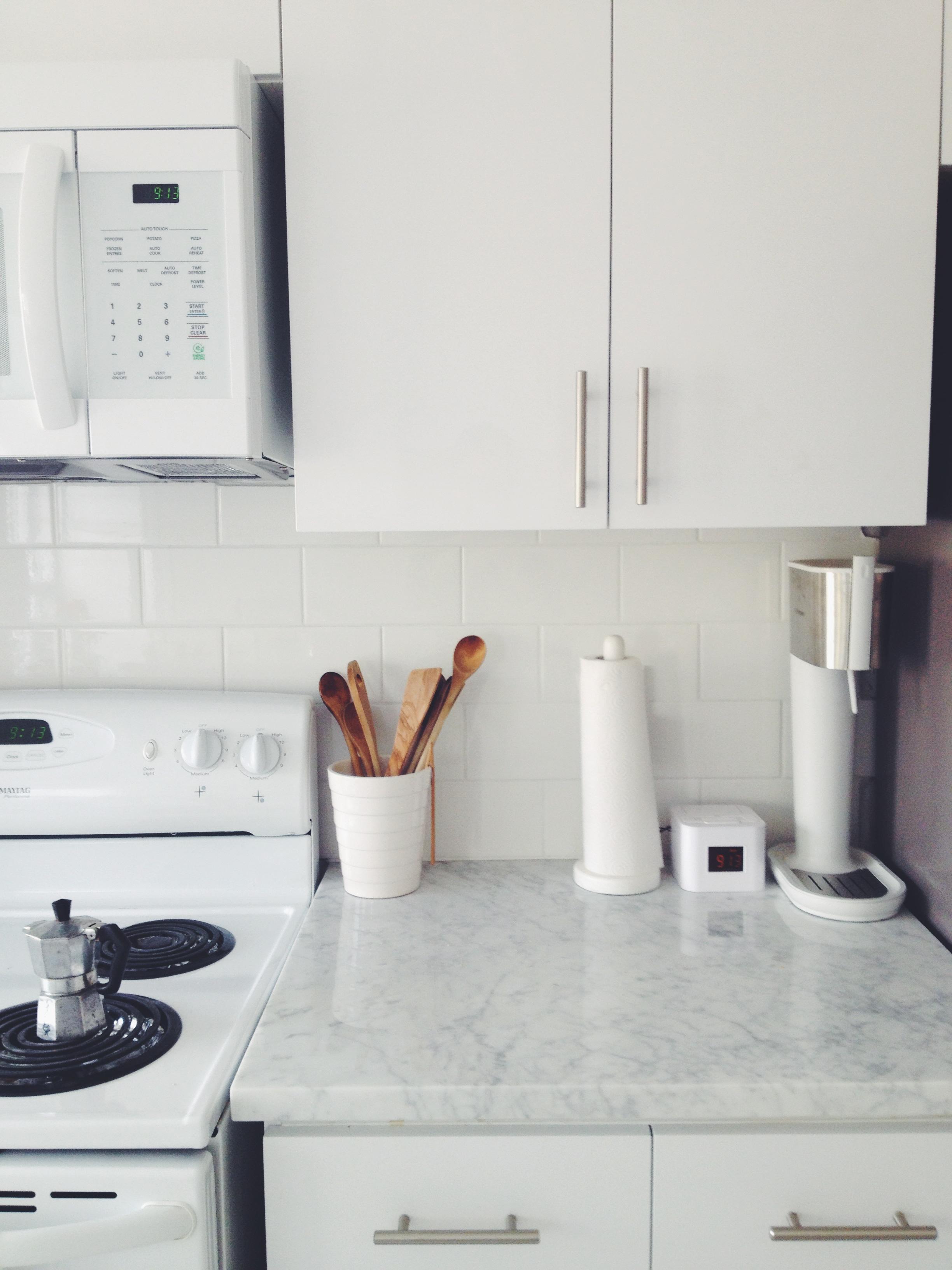 Uptown: Kitchen Counter StyleWhite Cabana | White Cabana