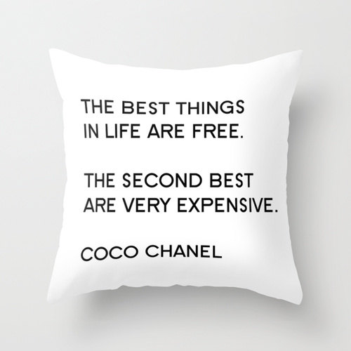 Chanel-pillow