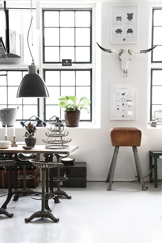 Marketplace industrial chic at etsywhite cabana white cabana - Style industriel chic ...