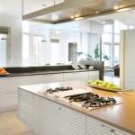 The Friday Five: Bright White Kitchens