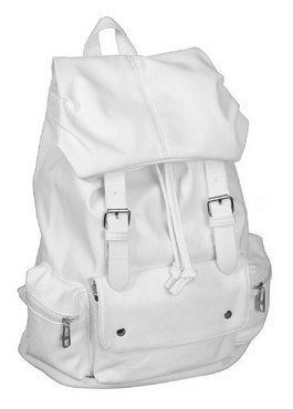 white-backpack