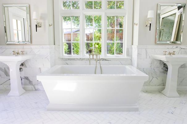 marble-herringbone-bathroom