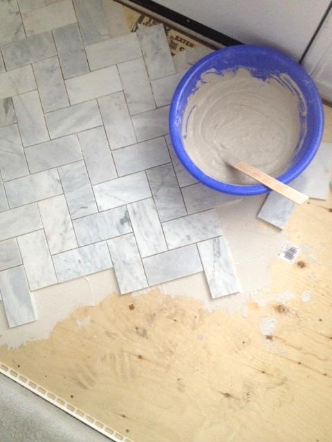 White-Cabana-marble-tile-installation-2