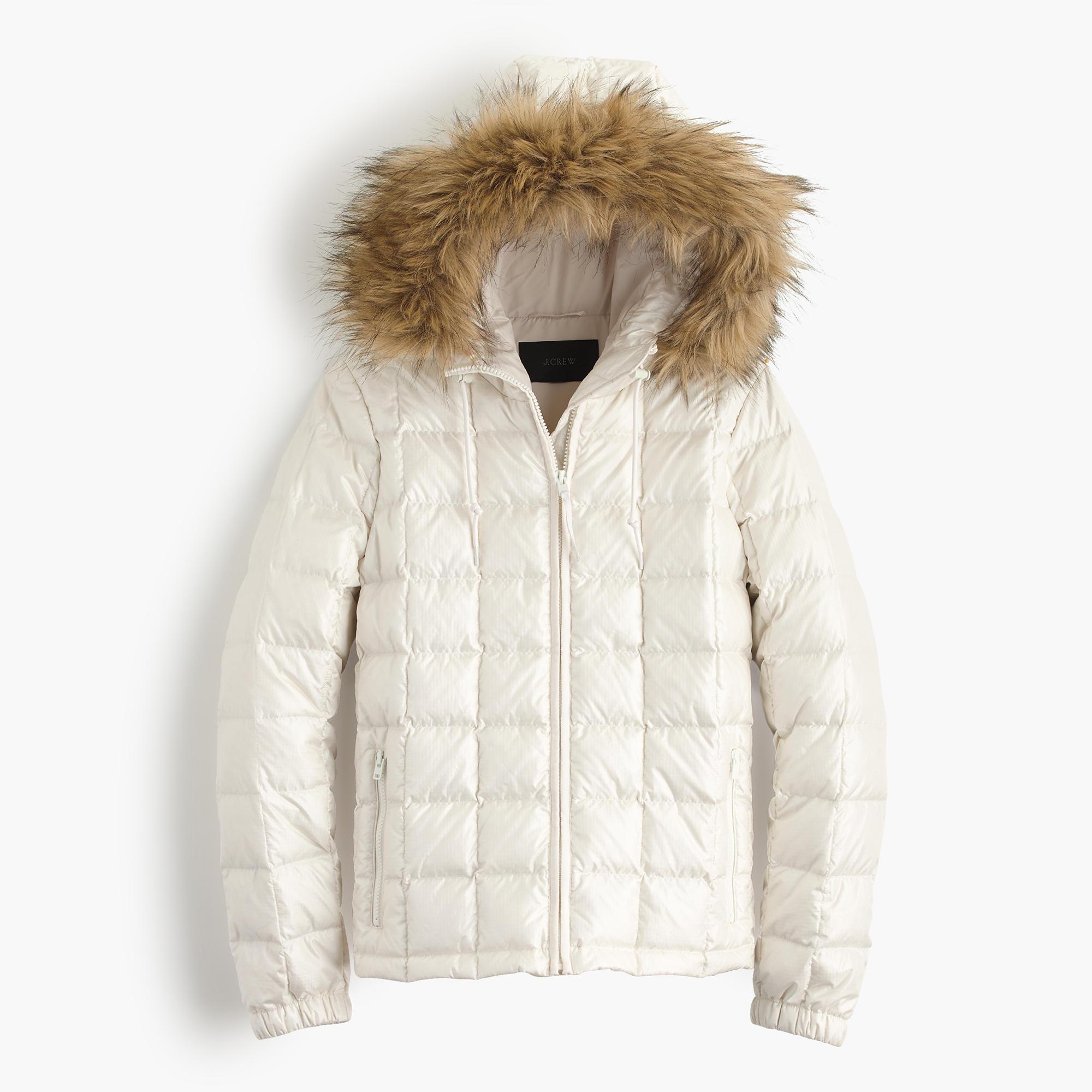 Fashion: The White Puffy CoatWhite Cabana | White Cabana