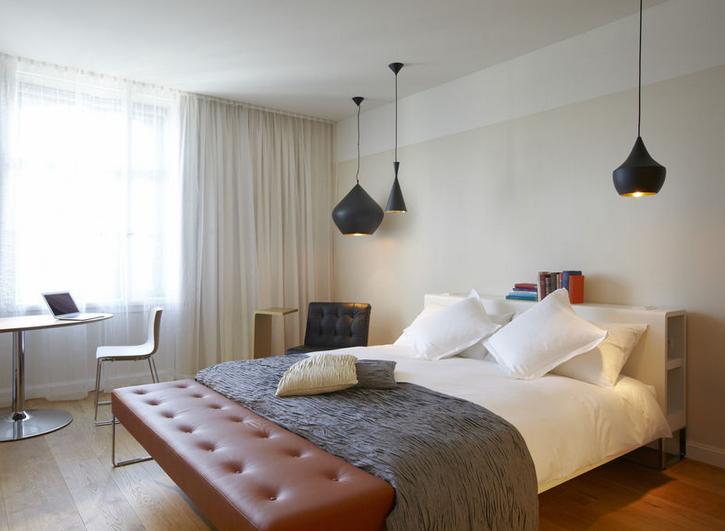 B2 boutique hotel zurich white cabana for Boutique hotel schweiz