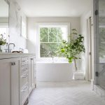 Interiors: Marble Herringbone Floors