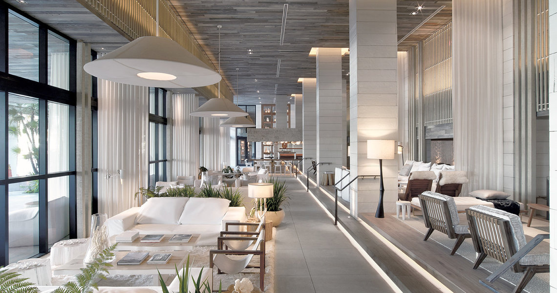 Hotel To Home 1 South Beach Miami White Cabana