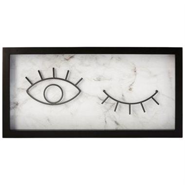 eye wink frameWhite Cabana | White Cabana