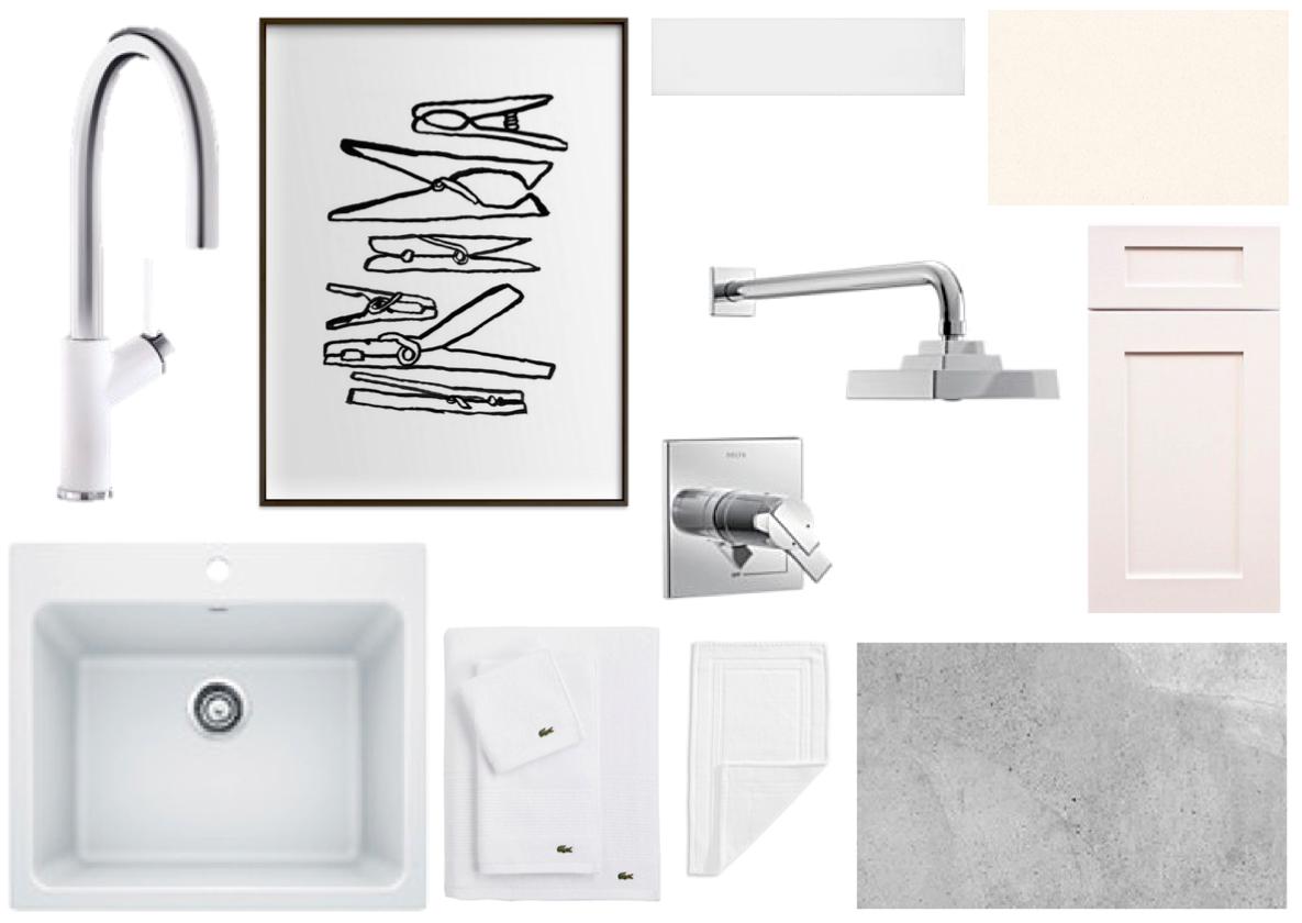 Design: Laundry Room Design Ideas | White Cabana