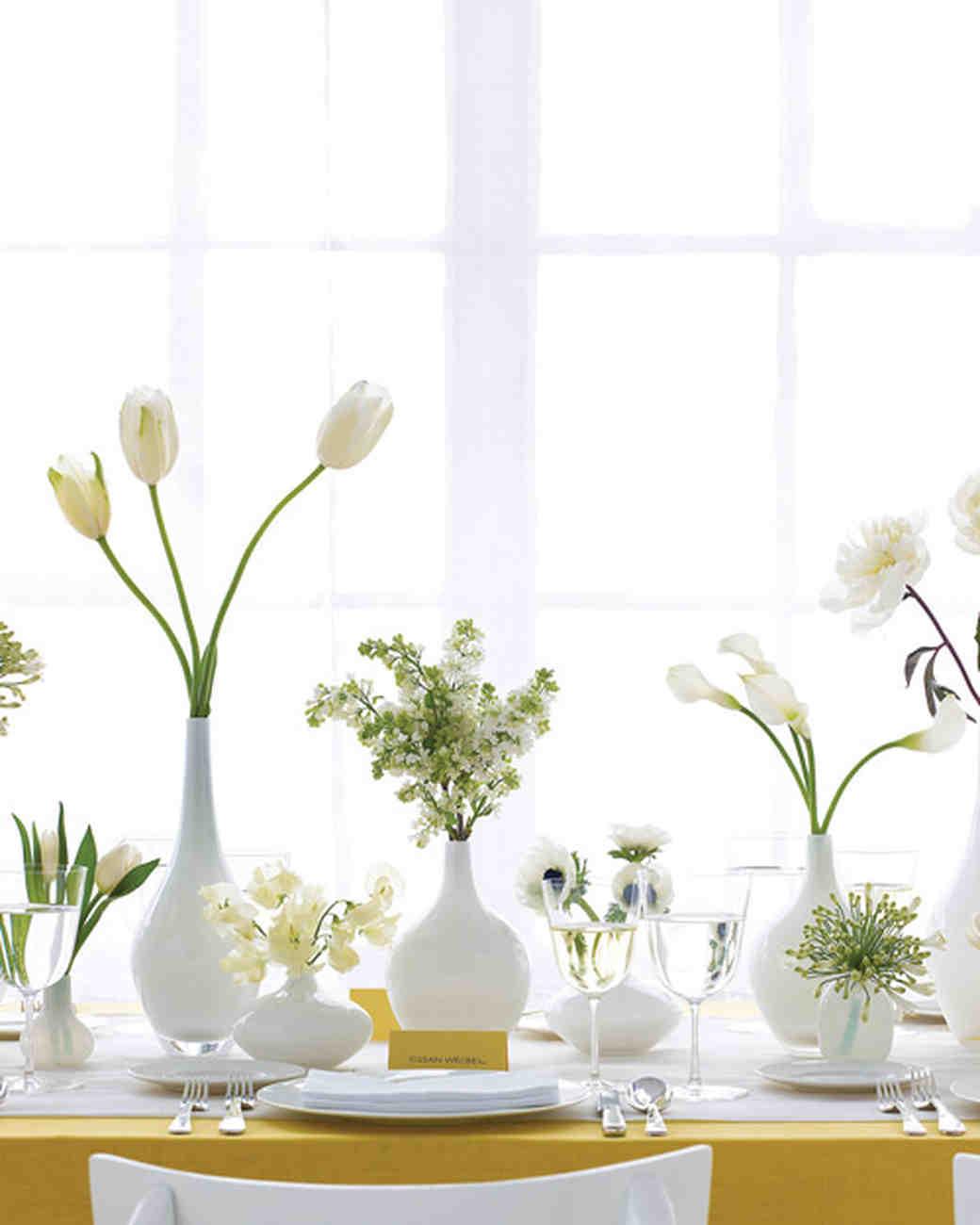 flowers bud vasesWhite Cabana   White Cabana