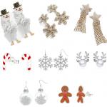 Fashion: Christmas Earrings